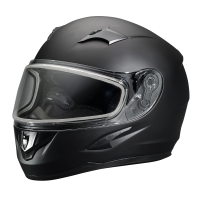 Blaze Adult Full-Face Helmet with Anti-Fog Flip Shield