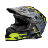 509® Altitude Adult Moto Helmet with Camera Mount, Lime - Image 1 de 4