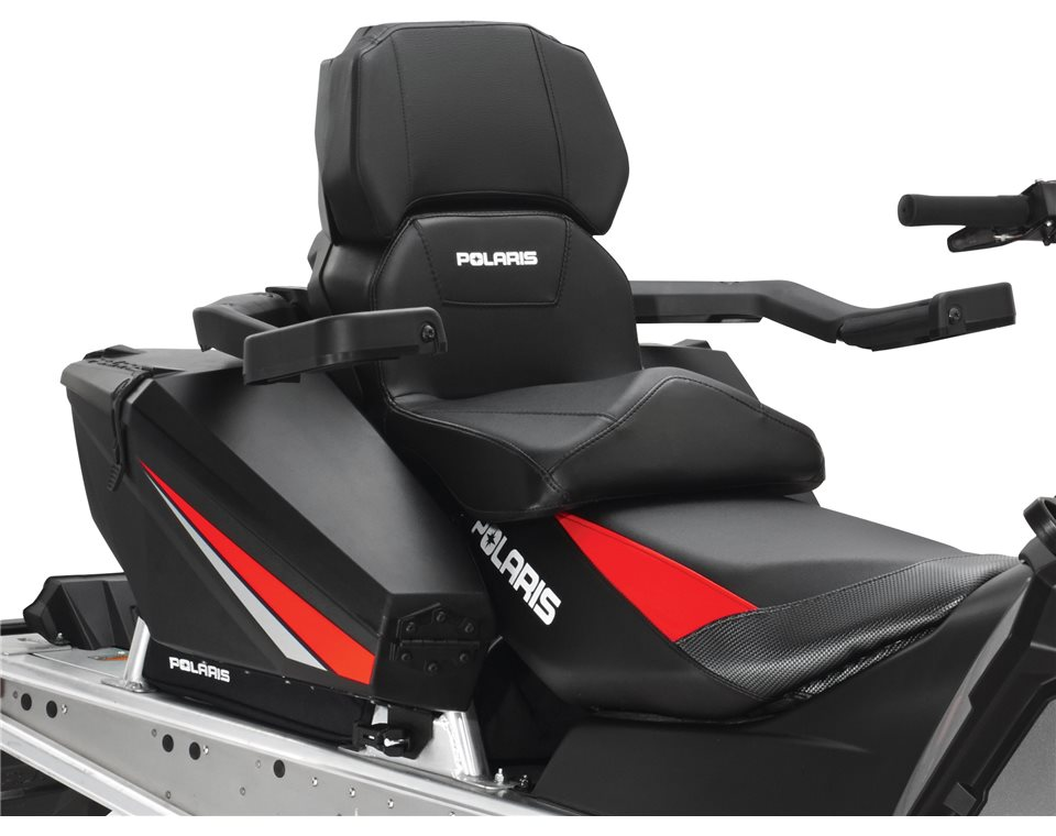 Details about Polaris Lock and Ride Convertible passenger seat backrest  Black 2879841 New OEM