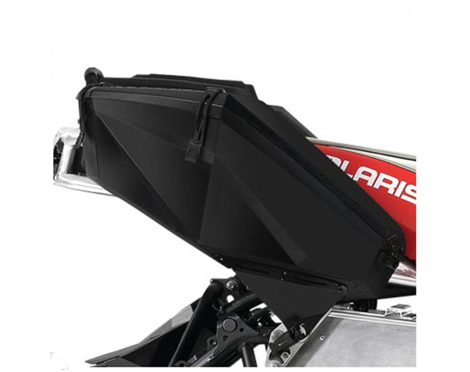Polaris Snowmobile Cargo Rack Saddle Bag Black 2878720 New Oem