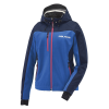 Women's Softshell Jacket with White Polaris® Logo, Blue - Image 1 of 3
