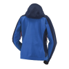Women's Softshell Jacket with White Polaris® Logo, Blue - Image 2 of 3