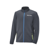 Men's Full-Zip Mid Layer Jacket with White Polaris® Logo, Gray - Image 1 de 3