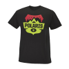 Men's Badge Graphic T-Shirt with Polaris® Logo, Black - Image 1 of 2