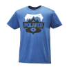 Men's Badge Graphic T-Shirt with Polaris® Logo, Royal Heather - Image 1 of 1