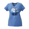 Women's Scenic Graphic T-Shirt with Polaris® Logo, Royal Heather - Image 1 de 3