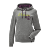 Women's Retro Hoodie Sweatshirt with Polaris® Logo, Gray - Image 1 de 3