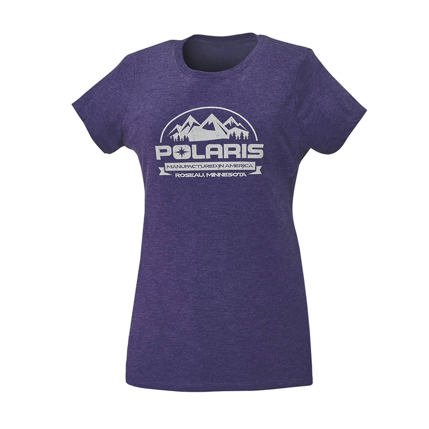 Women's Roseau Graphic T-Shirt with Polaris® Logo, Purple Frost