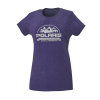 Women's Roseau Graphic T-Shirt with Polaris® Logo, Purple Frost - Image 1 de 3
