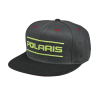 Men's Dash Snapback Hat with Lime Polaris® Logo, Gray - Image 1 of 4