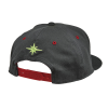 Men's Dash Snapback Hat with Lime Polaris® Logo, Gray - Image 2 of 4