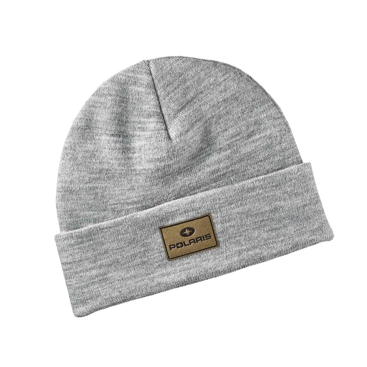 Men's Knit Beanie with Polaris® Patch, Gray