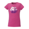 Youth Scenic Graphic T-Shirt with Polaris® Logo, Berry - Image 1 de 2