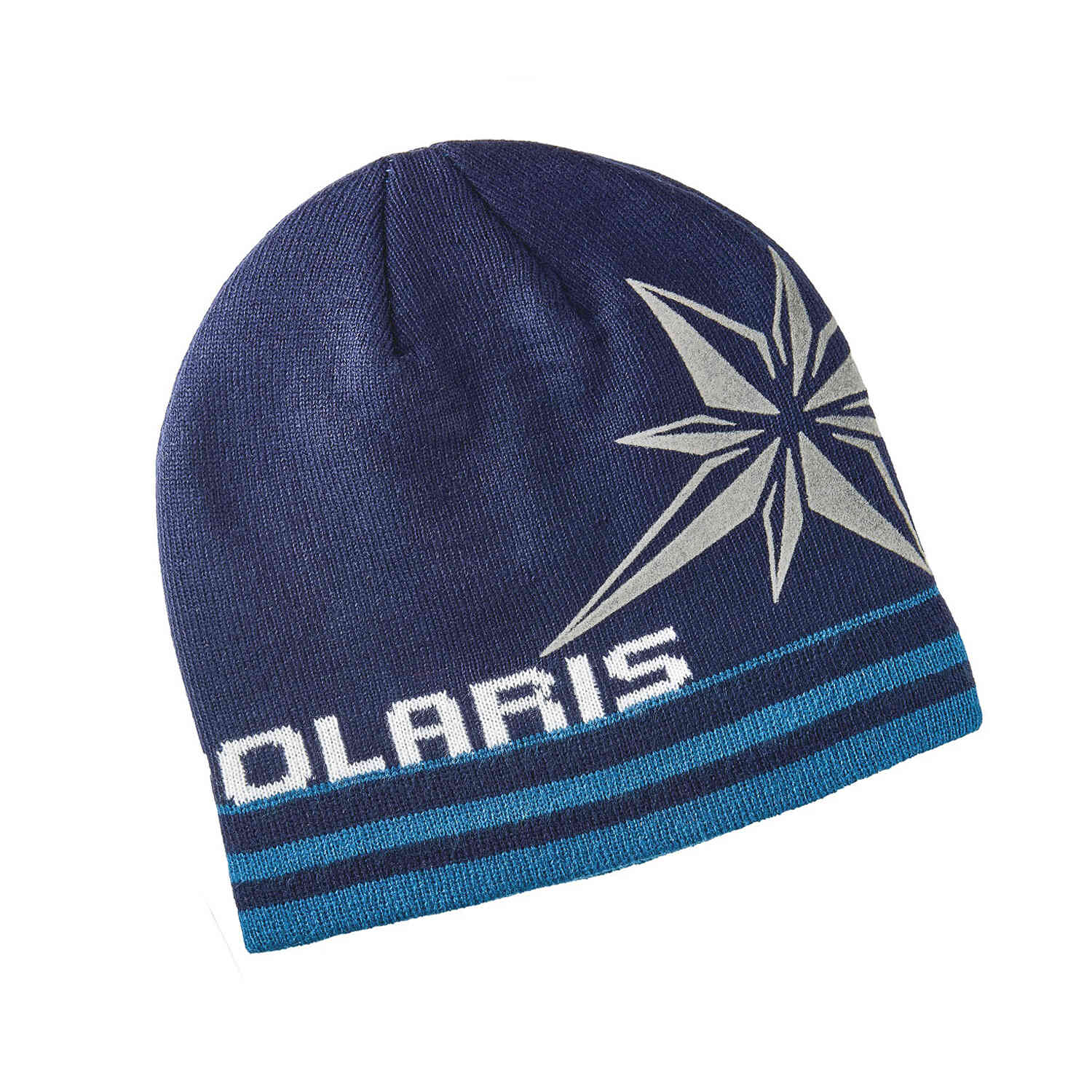 Men's Northern Star Beanie with Polaris® Logo, Navy