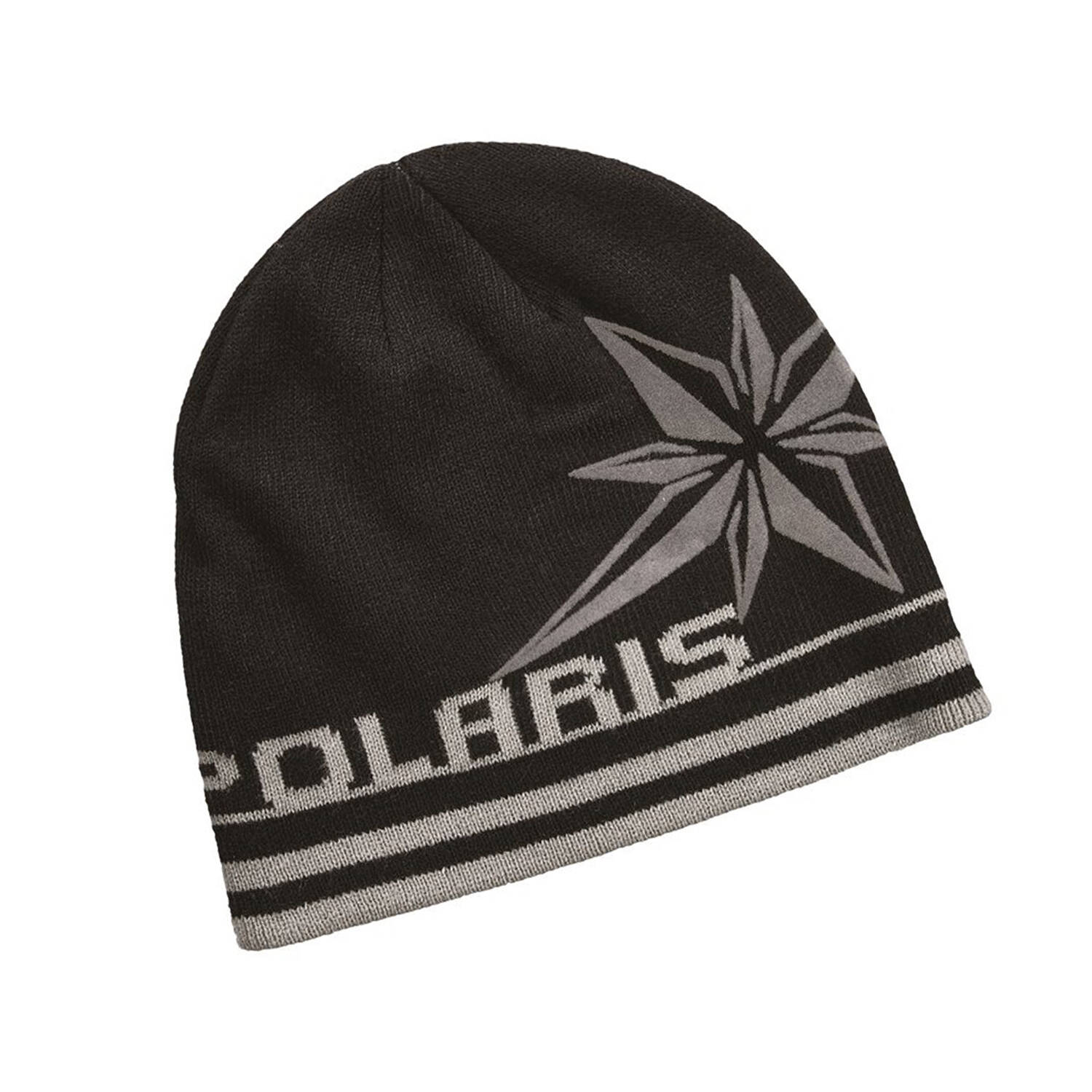 Unisex Knit Northern Star Beanie, Black