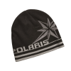 Unisex Knit Northern Star Beanie, Black - Image 1 de 2