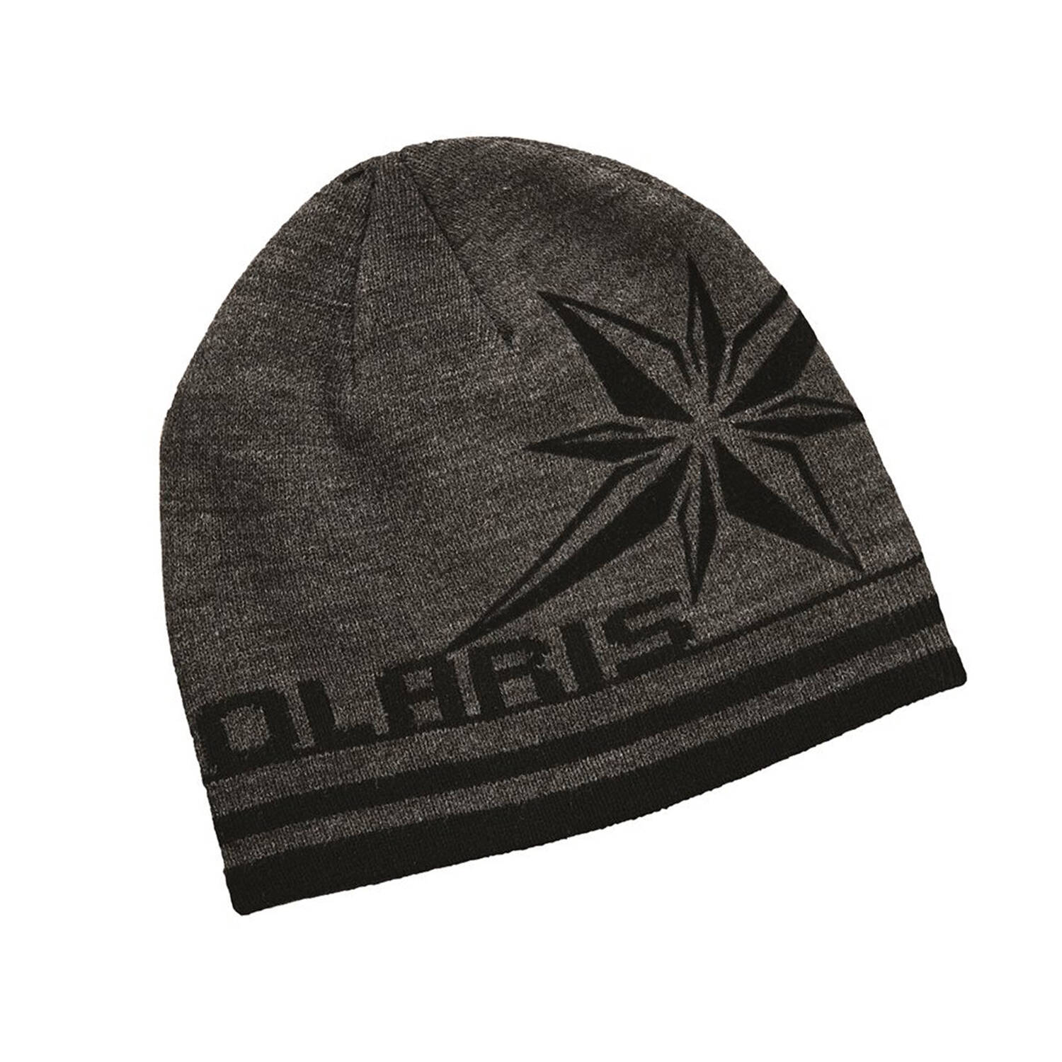 Unisex Knit Northern Star Beanie, Gray