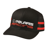 new product 562ef 94d7f Unisex Adjustable Mesh Snapback Classic Racing Hat with Polaris® Logo