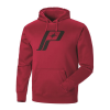 Men's Retro Hoodie Sweatshirt with Polaris® Logo, Red - Image 2 de 5
