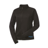 Women's Full-Zip Tech Jacket with Blue Polaris® Logo, Black - Image 2 de 3