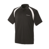 Men's Short-Sleeve Classic Core Polo with White Polaris® Logo, Black - Image 1 de 2