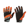 Adult Off-Road Riding Glove with Embossed Knuckle System, Orange - Image 1 of 1