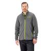 Men's Full-Zip Mid Layer Jacket with Lime Polaris® Logo, Gray - Image 1 de 1