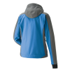 Women's Softshell Jacket with White Polaris® Logo, Blue/Orange - Image 2 of 4