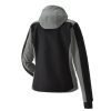 Women's Softshell Jacket with Pink Polaris® Logo, Black/Gray - Image 2 of 4