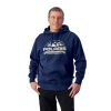 Men's Roseau Hoodie Sweatshirt with Polaris® Logo, Navy Heather - Image 1 de 4