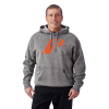 Men's Retro Hoodie Sweatshirt with Polaris® Logo, Gray - Image 1 de 1