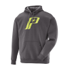 Men's Retro Hoodie Sweatshirt with Polaris® Logo, Charcoal Heather - Image 1 de 1