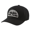 Unisex (L/XL) Flexfit Hat with Mountain Scape Polaris® Logo Patch, Black - Image 1 de 2