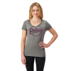 Women's Graphic T-Shirt with Script Polaris® Logo, Gray - Image 1 of 1