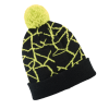 Men's Shattered Cuff Beanie with Polaris® Logo, Lime - Image 2 of 3