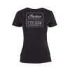 Women's FTR1200 Logo T-Shirt, Black - Image 2 of 5