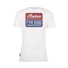 Women's FTR1200 Logo T-Shirt, White - Image 2 of 7