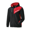 Men's Full-Zip Hoodie Sweatshirt with RZR® Logo, Black - Image 1 of 5