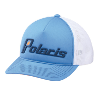Women's Adjustable Mesh Snapback Hat with Retro Polaris® Logo