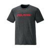Men's Graphic T-Shirt with Polaris® Logo, Charcoal Heather - Image 1 de 3