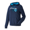 Women's Retro Hoodie Sweatshirt with Polaris® Logo, Navy - Image 1 de 6