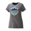Women's Hex Graphic T-Shirt with Polaris® Logo, Gray Frost - Image 1 de 4