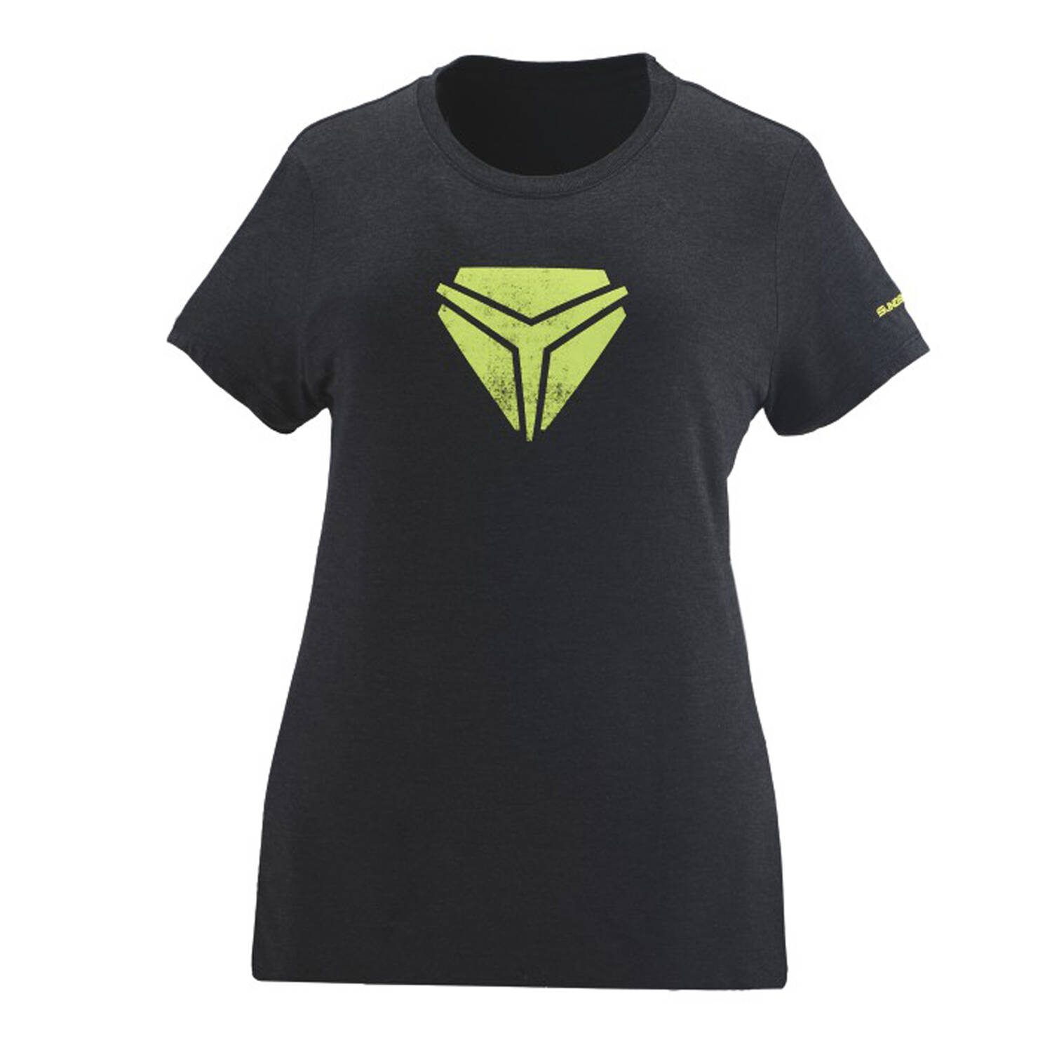 Women's Vintage Shield Tee - Black Frost
