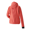 Women's Softshell Jacket with White Polaris® Logo, Coral - Image 2 of 4