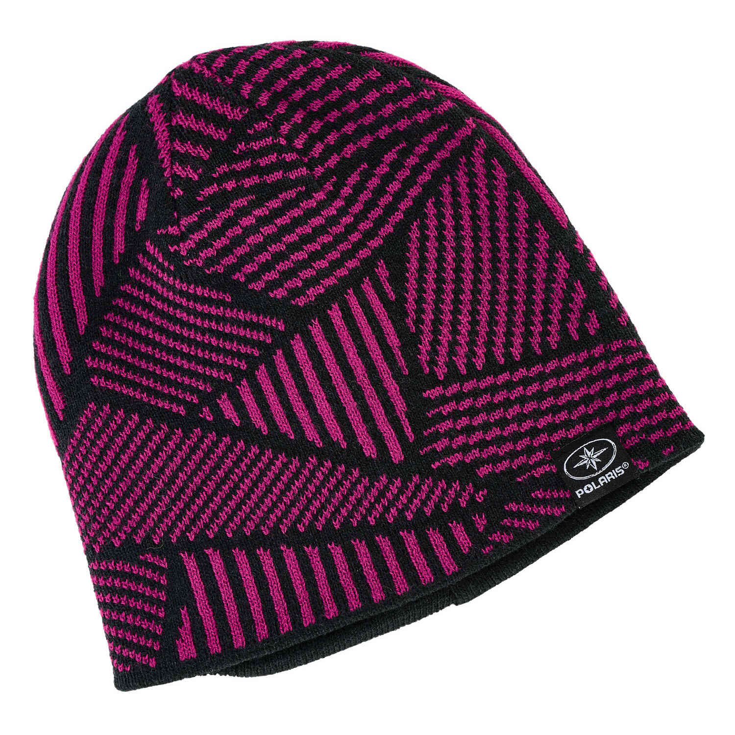 Youth Jersey Knit Reversible Beanie, Pink