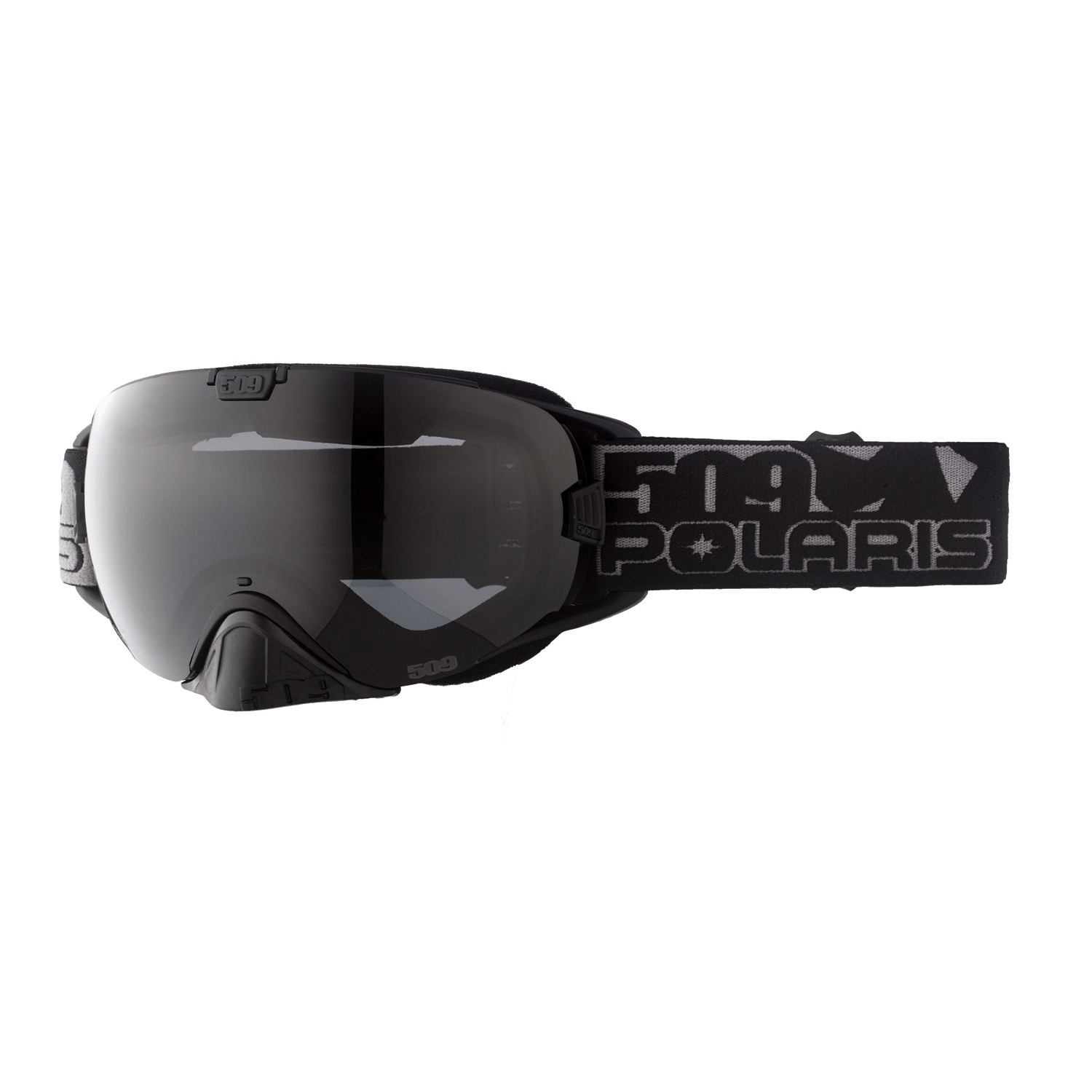 509® Revolver Adjustable Snow Goggles with Pivot Lens Lock Technology, Polarized Smoke