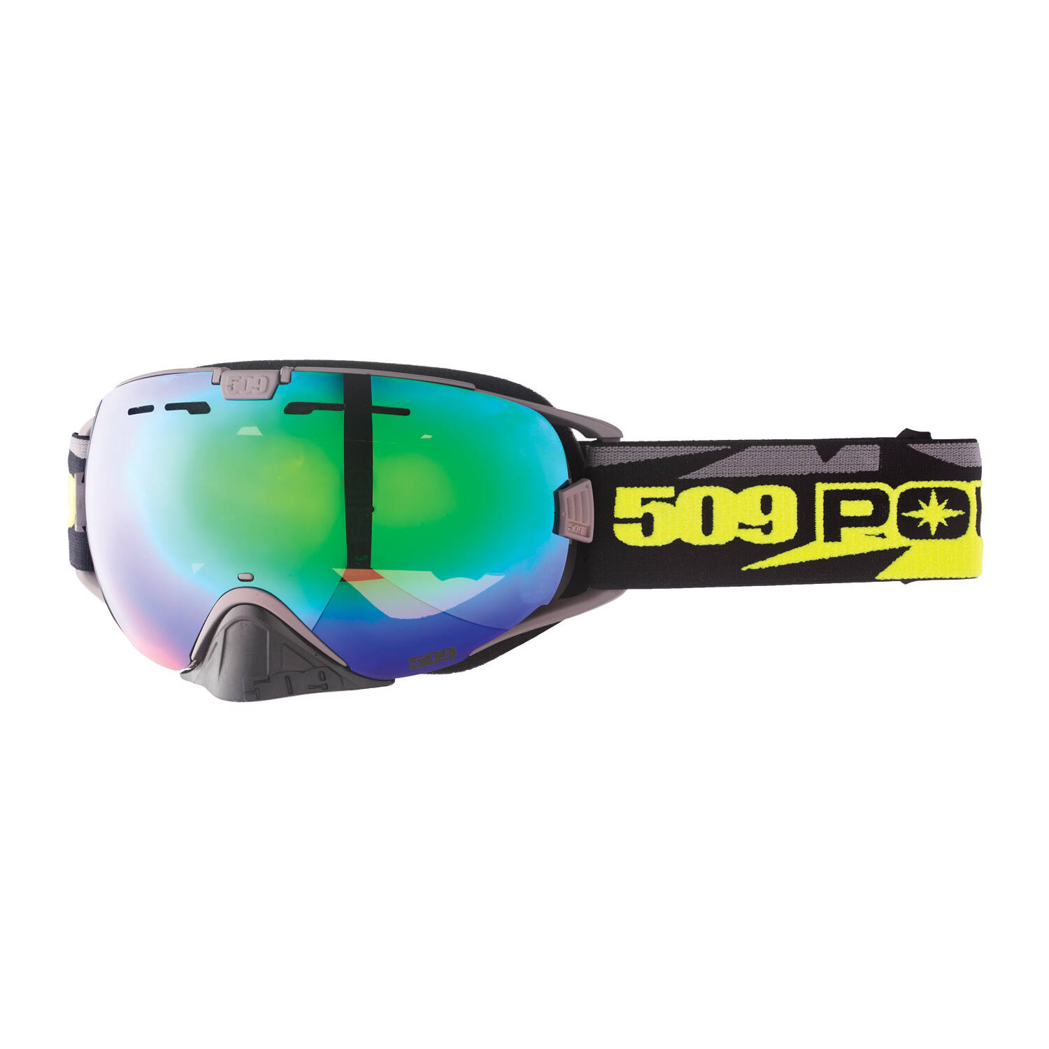 509® Revolver Adjustable Snow Goggles with Pivot Lens Lock Technology, Lime