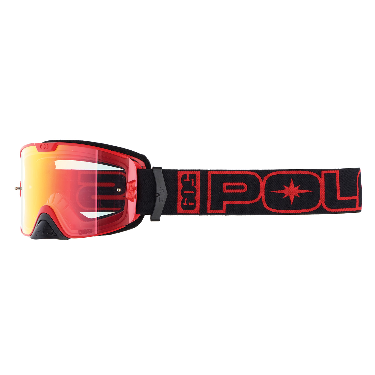 509® Kingpin Dirt Adult Goggle with Anti-Fog Coating, Red
