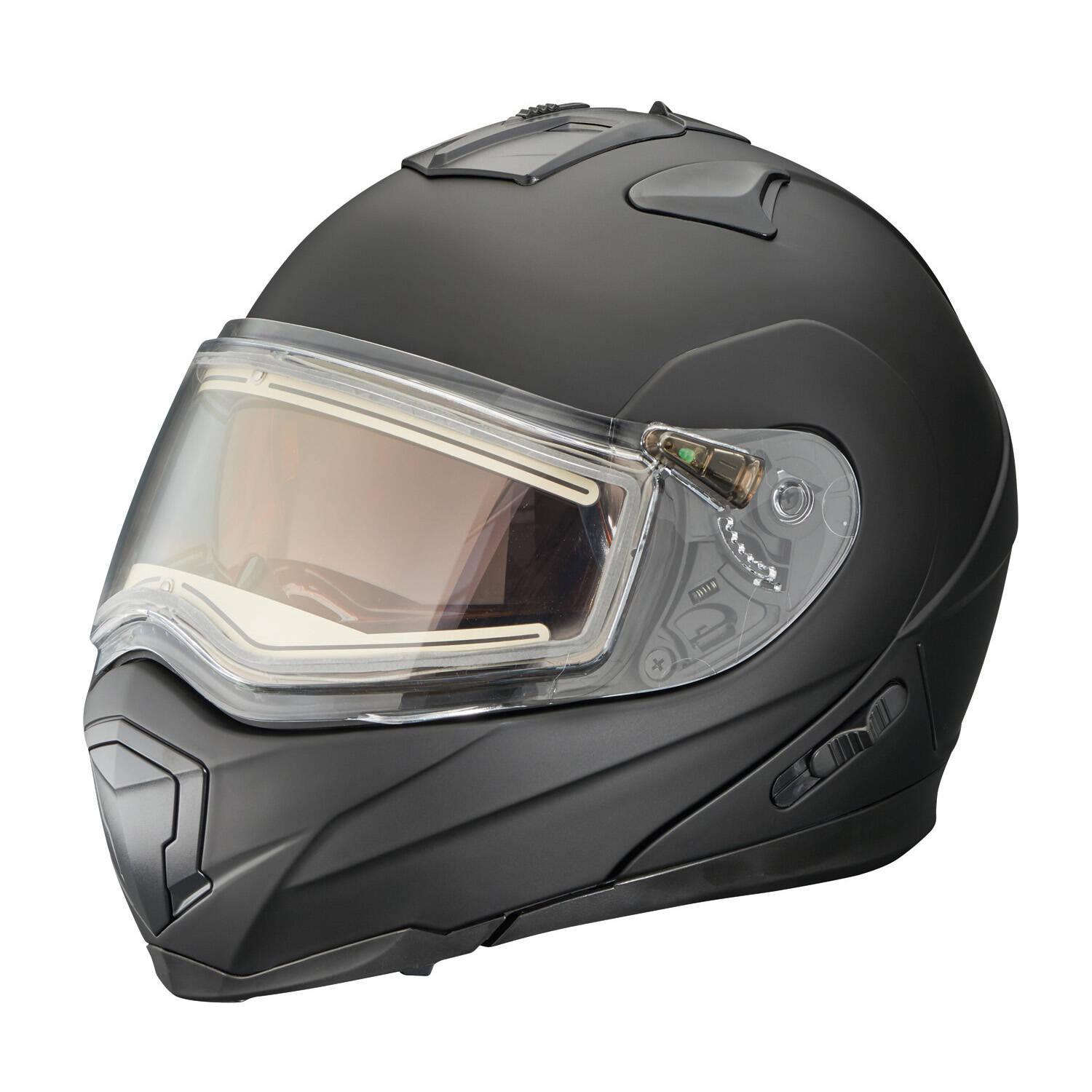 Modular 1.5 Adult Helmet with Electric Shield, Black Matte