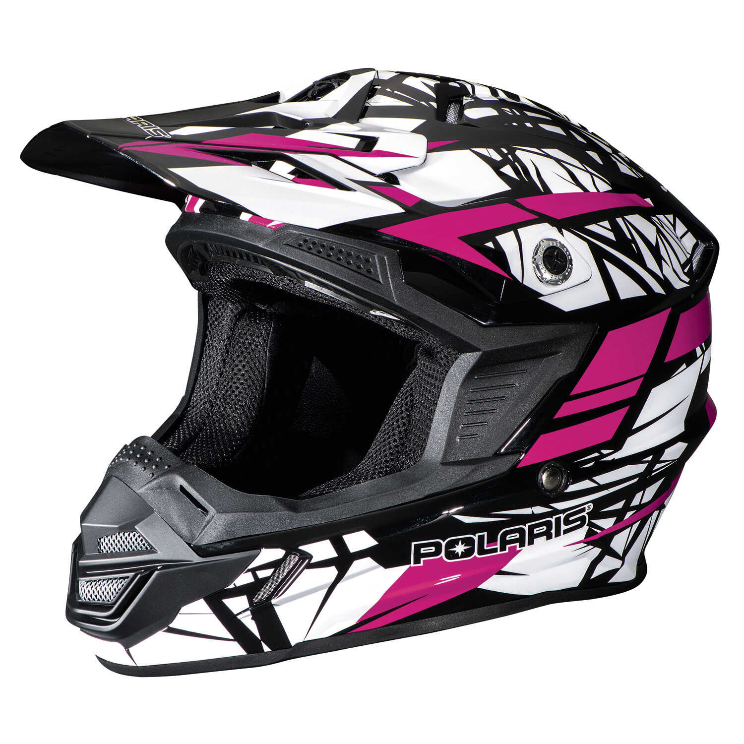Tenacity Adult Moto Helmet with Removable Liner, Pink